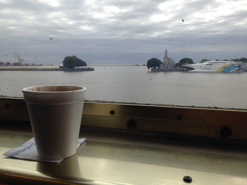 Ferry rumo ao Uruguai
