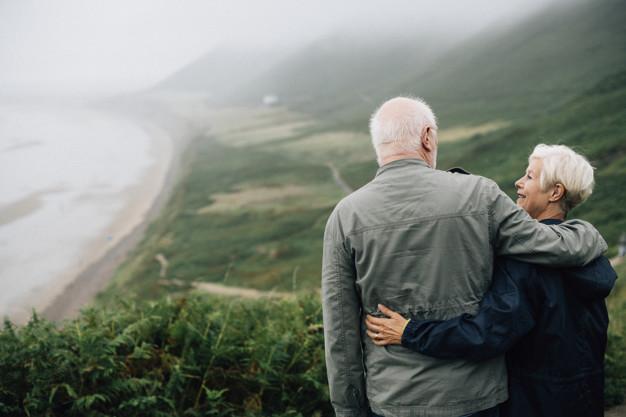 Viajantes acima de 60 anos